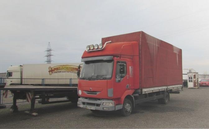 У п'ятницю, 20 березня, на електронному аукціоні ProZorro.Продажі Закарпатська митниця Держмитслужби продаватиме вантажний транспортний засіб, що був у використанні.