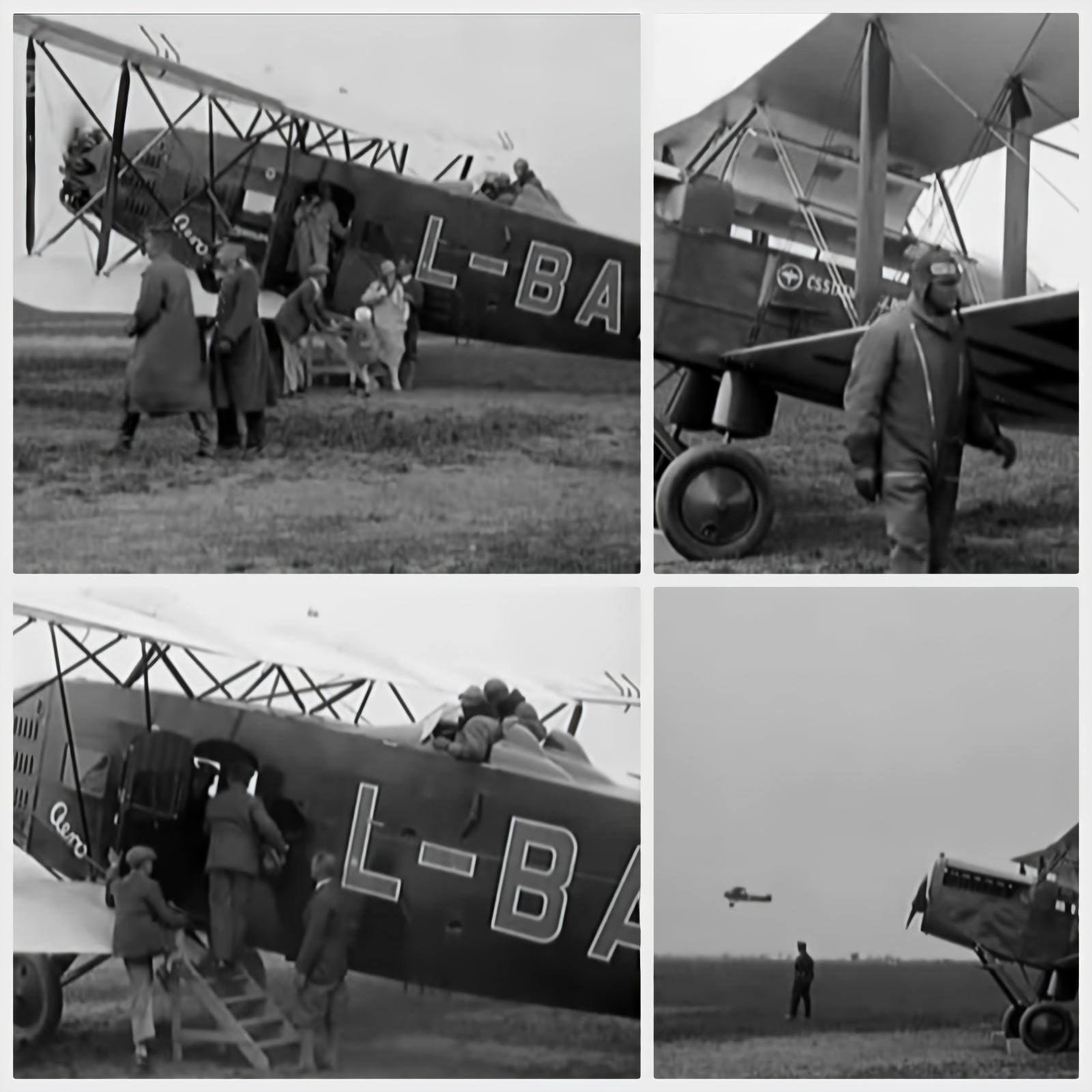 У період коли Закарпаття входило до складу чехословаччини здійснювались навіть міжнародні рейси.