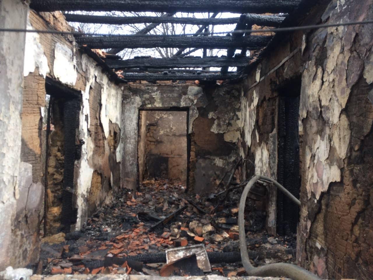 З початку березня на Закарпатті в пожежах померли троє людей