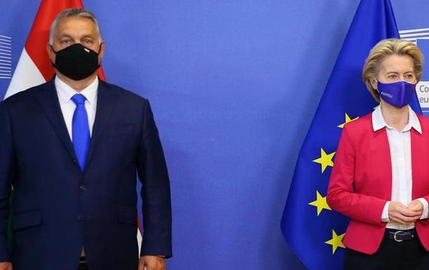 Угорський прем'єр Віктор Орбан хоче накласти вето на рішення про бюджет ЄС та фонд боротьби з наслідками пандемії COVID-19.