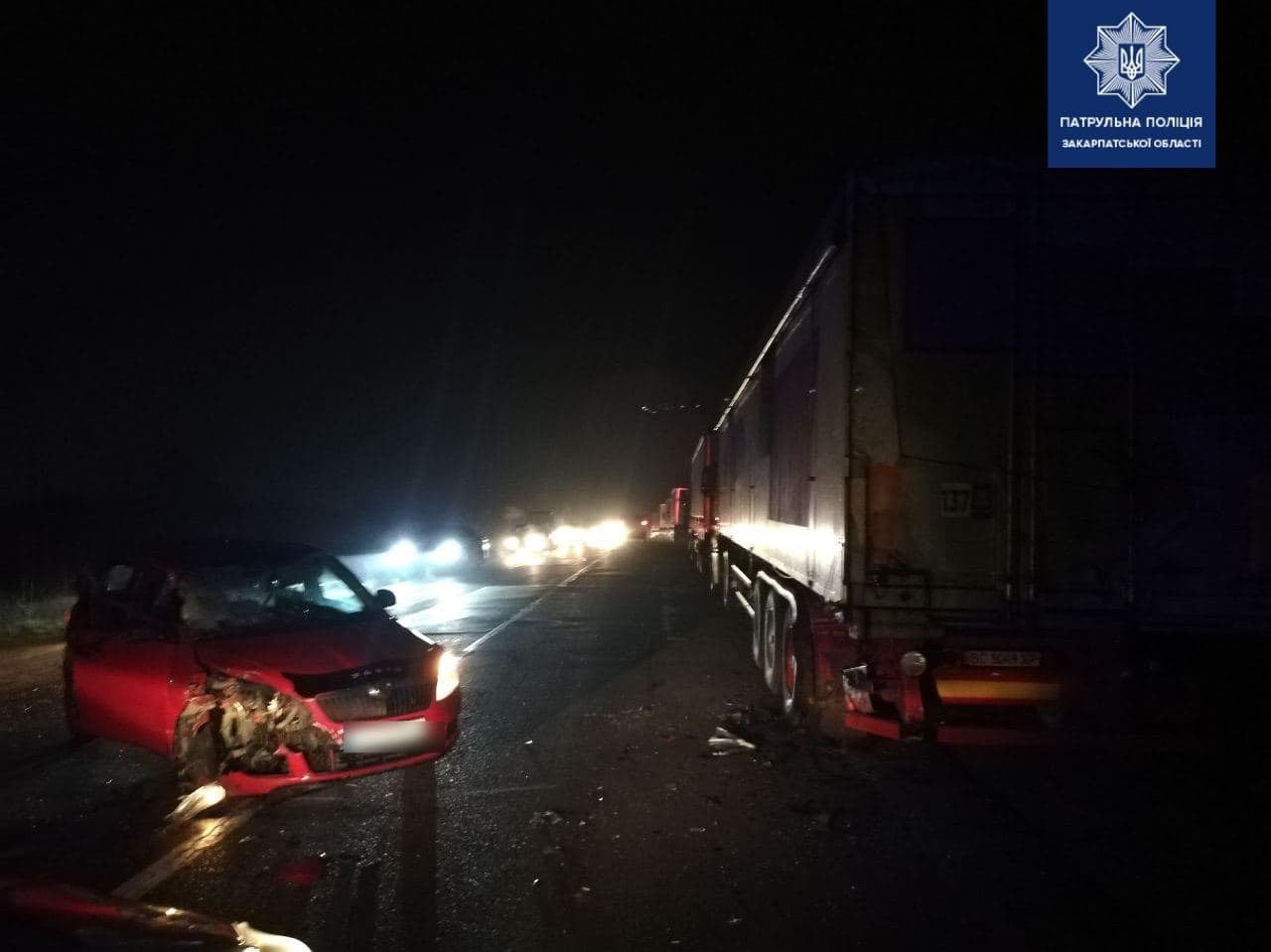 Вчора, близько 18-ї години, надійшов виклик про ДТП на об'їзній дорозі міста Ужгород.