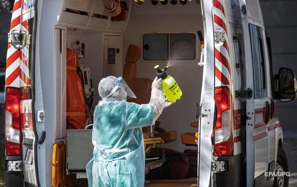 Наибольшее количество зарегистрированных случаев коронавирус среди медиков - в Черновицкой области.