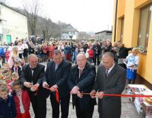 У селі на Рахівщині відкрили новий сучасний дитячий садок