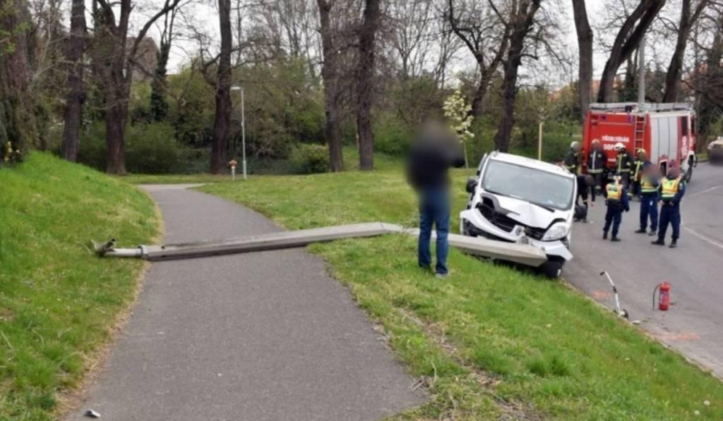 Аварія сталась поблизу міста Шопрон.