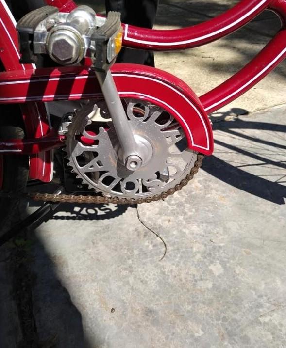 Директор Музею Берегівщини відреставрував майже 100-річний велосипед.