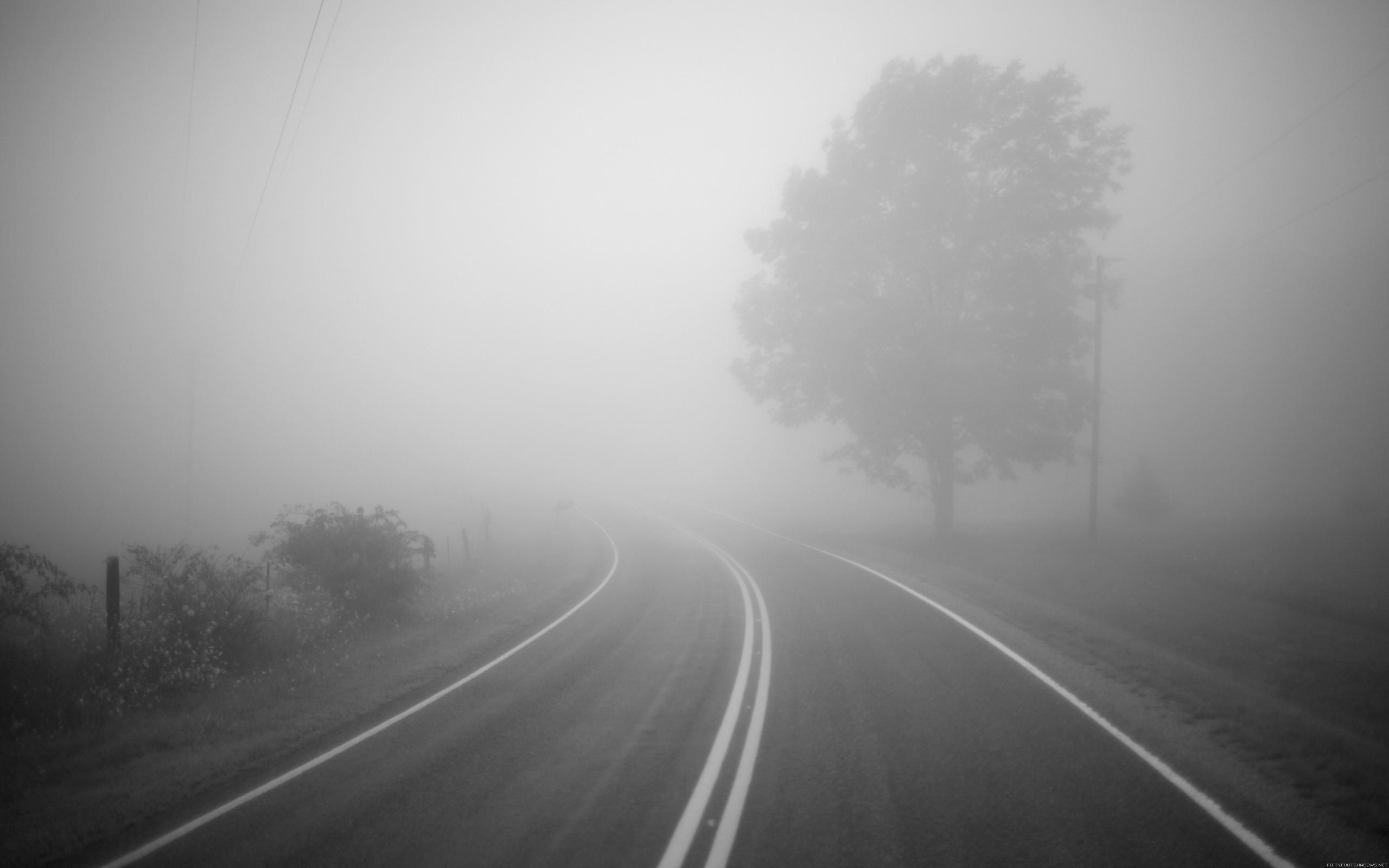 Закарпатців попереджають про густі тумани на дорогах