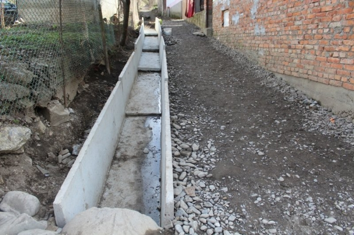 бетонные лотки для канавы фото