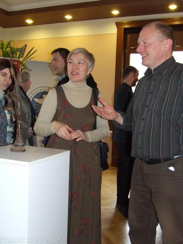 Берегово ближче знайомилось із скульптором Ендре Гіді-молодшим / ФОТО