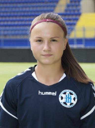 Закарпатська спортсменка з с. Страбичиво Надія Куніна потрапила до складу 11-ти найкращих футболісток України до своєрідної жіночої команди «dream team».