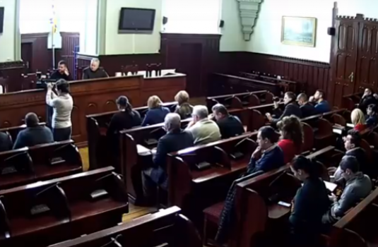У Мукачеві звітують комунальники (НАЖИВО)
