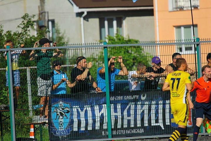 У середині липня відбувся матч Першої ліги без дотримання карантинних заходів.