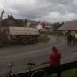 У селищі Ясіня вантажівка залишила без електрики цілий мікрорайон (ВІДЕО, ФОТО)