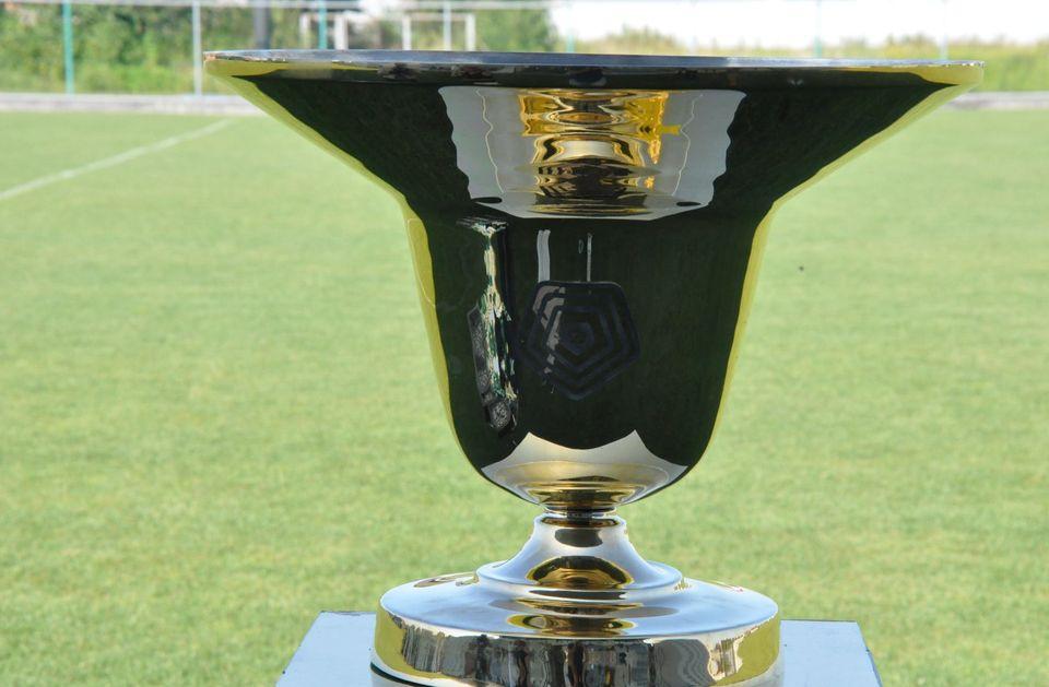 Футболістів та тренерський штаб нагородили на стадіоні «Минай».