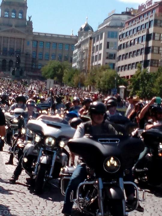 У Празі пройшов міжнародний зліт мотоциклістів