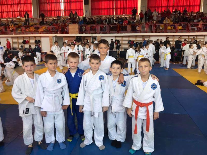 16 листопада у румунському місті Сату-Маре відбувся міжнародний дитячий турнір з дзюдо.