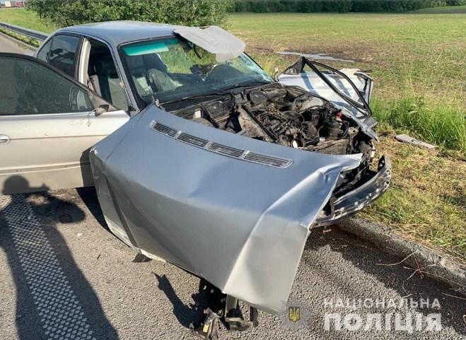 Закарпаттия попала в аварию в йытомырском районе.