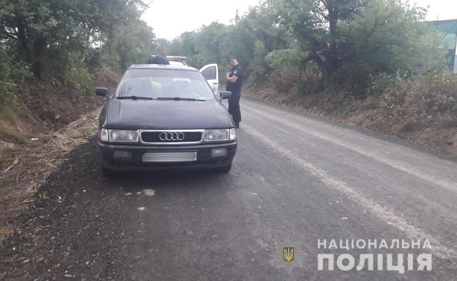 У Виноградові в порушника ПДР вилучили згортки з наркотиками.