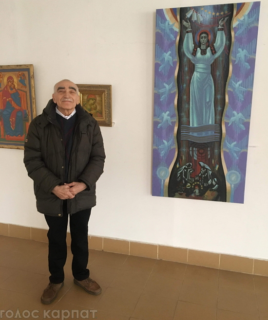 В галереі « Ужгород» відкрилась виставка творів Мирослава Греська.