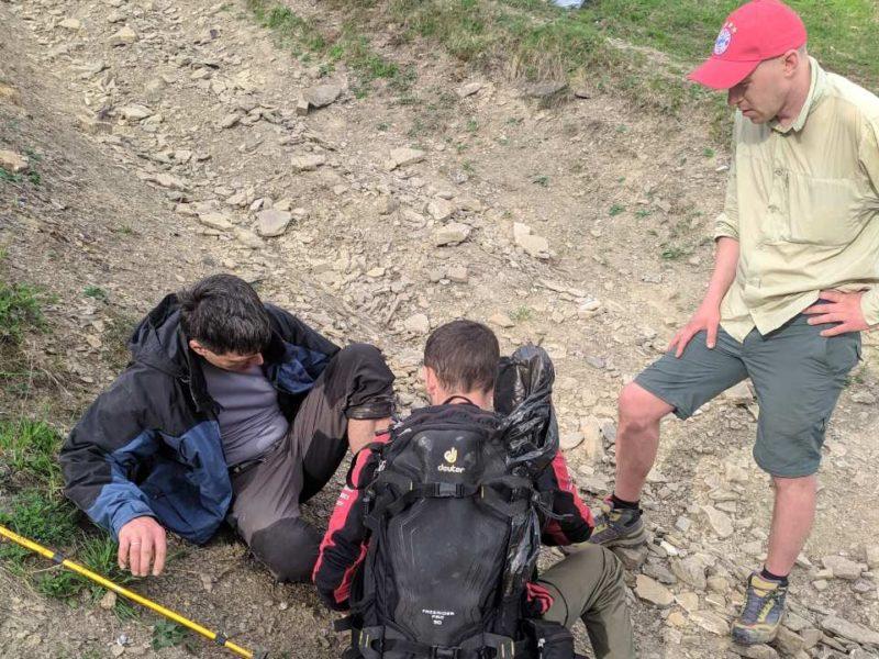 У біду турист потрапив у районі гори Кук на Міжгірщині.