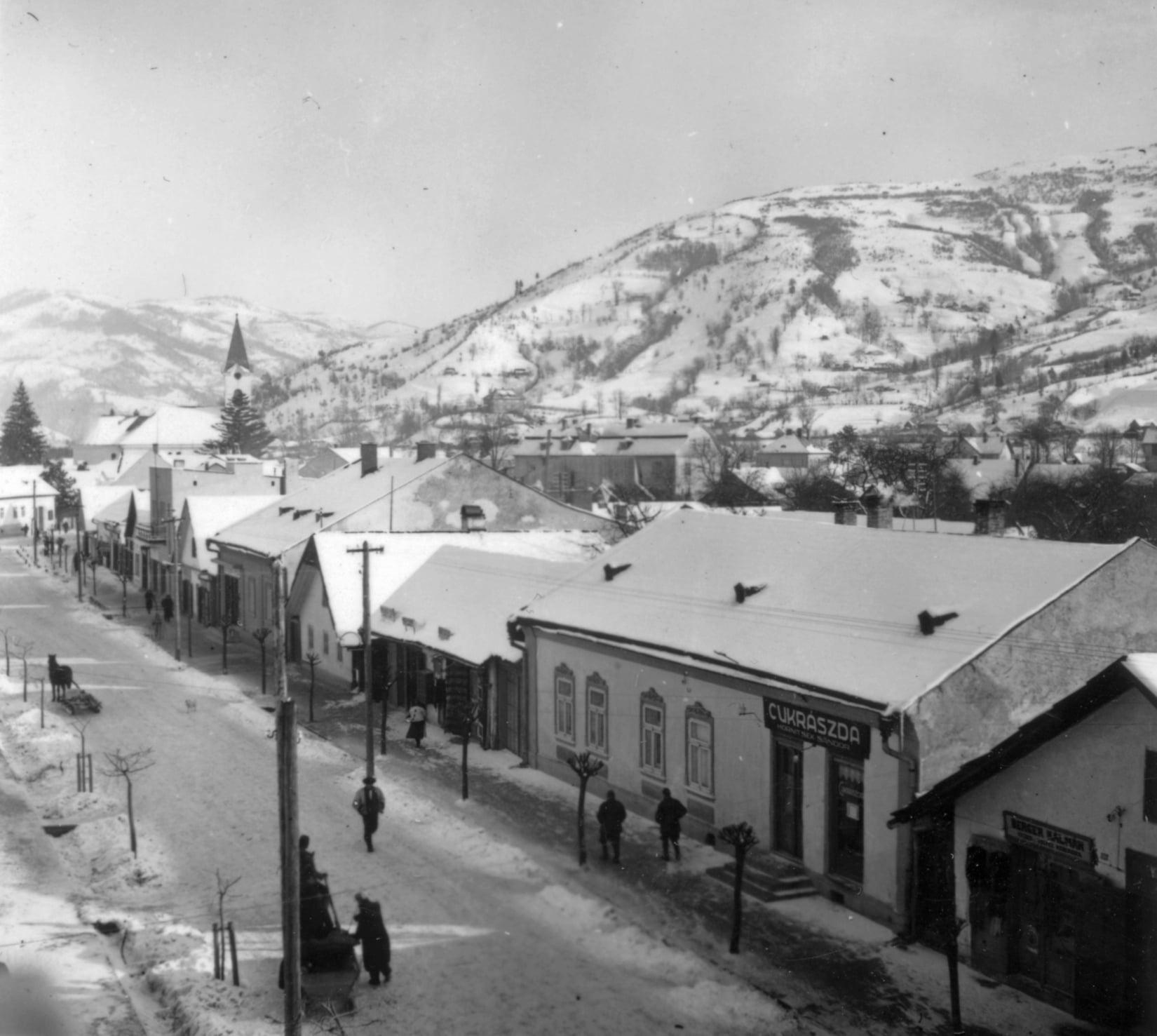 Зимовий та сніжний Рахів 1939 - 1941 роки.