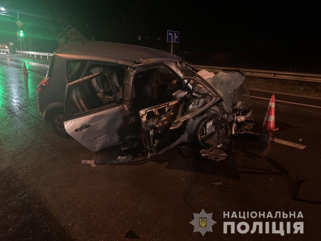 ДТП зі смертельними наслідками сталась напередодні, 14 грудня, близько 18.20 на автодорозі