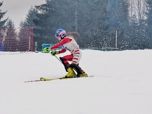 На Закарпатті в смт Поляна провели перші в зимовому сезоні 2020/21 лижні змагання в Україні.