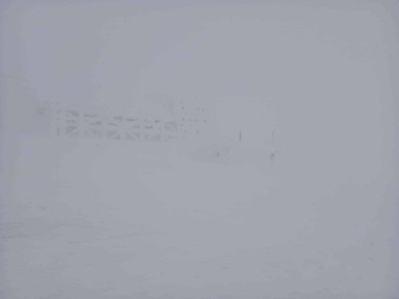 Видимість на високогір'ї сягає 50 метрів.
