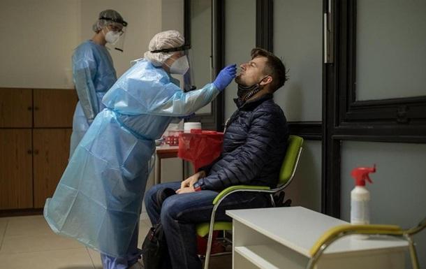 Уже проведено понад 350 тисяч тестів на антигени, серед них 10 тисяч виявилися