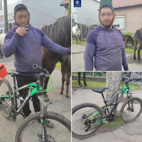 Патрульні допомогли чоловіку повернути вкрадений велосипед.
