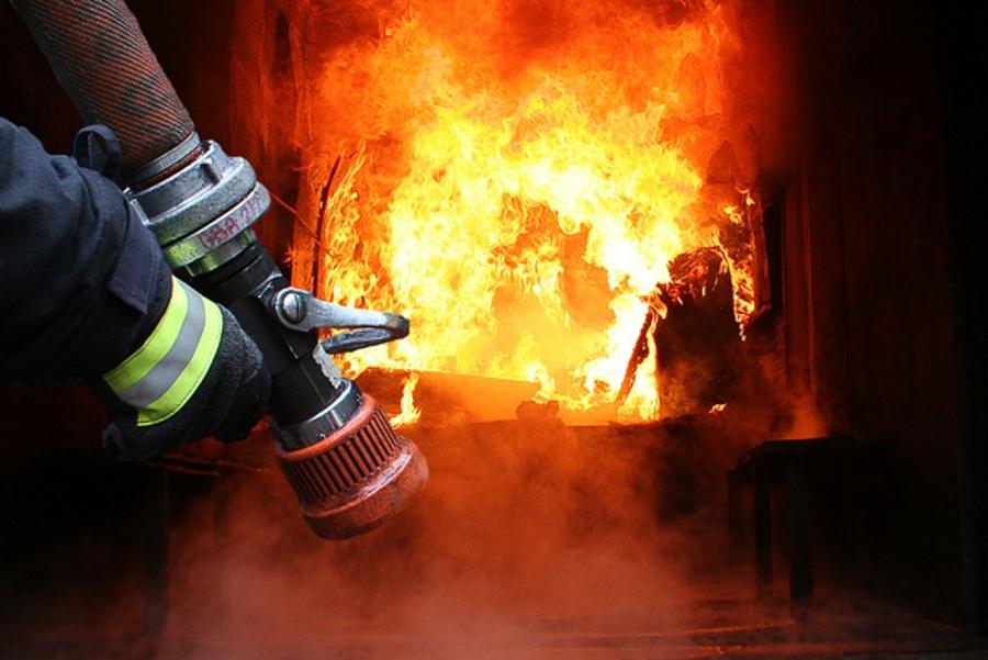 Пожар произошел в общежитии на улице Гвардейска в Ужгороде.