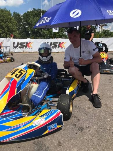Перші змагання сезону-2020 з картингу юний ужгородець Станіслав Німець розпочав із перемоги.