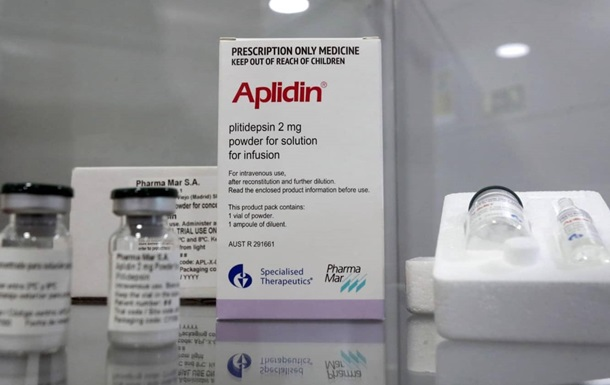 Препарат плітідепсін, який раніше випробовувався як ліки для онкохворих, за попередніми даними, показав хороші результати в боротьбі з коронавірусом.