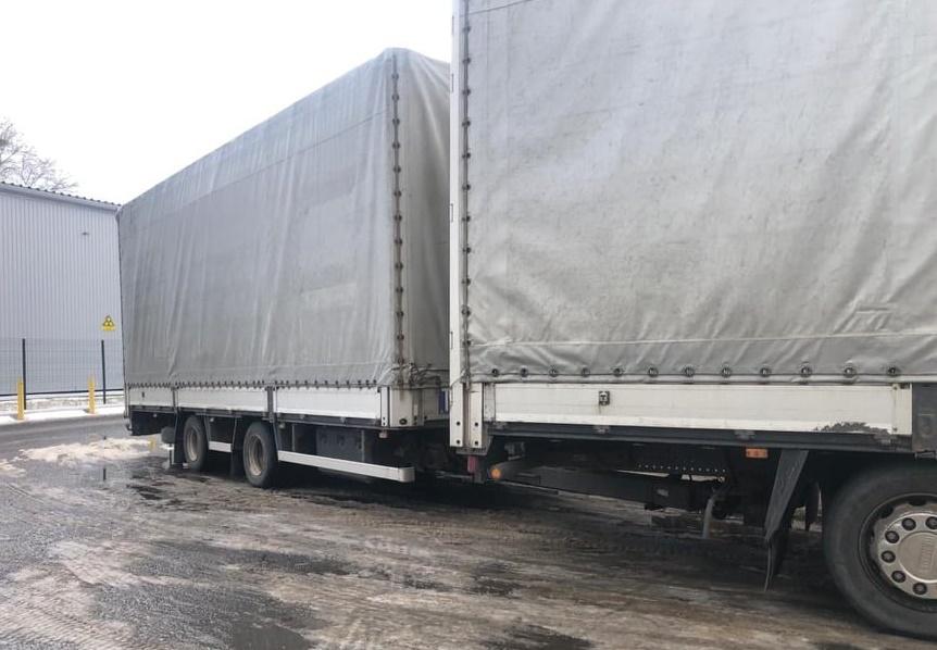 Учора вдень прикордонники відділу «Соломоново» Чопського загону попередили спробу незаконного ввезення в Україну причепа до вантажного автомобіля.