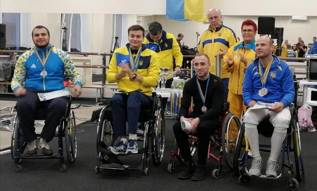 У Києві відбувся Чемпіонат України з фехтування серед спортсменів-візочників.