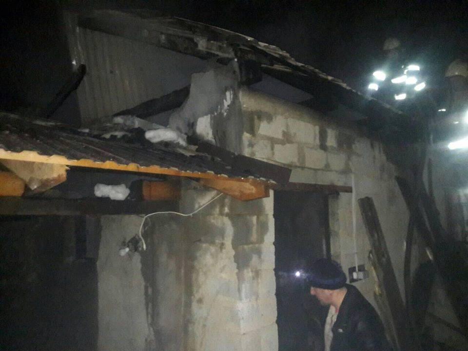 На Виноградівщині сталася масштабна пожежа