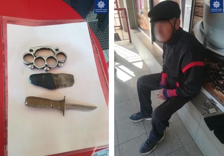 Вчора, близько 16-ї години, поліцейським надійшов виклик про чоловіка, що зайшов до магазину, ймовірно, із холодною зброєю в руках. Це трапилося на вулиці Івана Ваша, в Ужгороді.