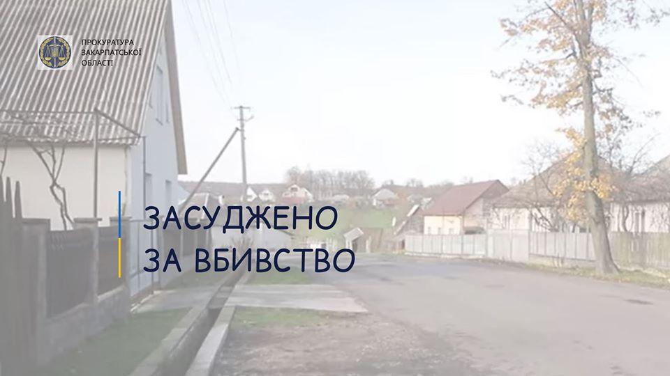За доводами прокурора Іршавського відділу Хустської місцевої прокуратури Іршавським районним судом визнано винним 58-річного підозрюваного у вбивстві рідної матері (ч.1 ст.115 КК України).