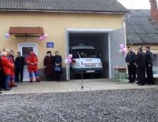 З різдвяними колядками на Виноградівщині відкривали сільський пункт екстреної медичної допомоги / ВІДЕО