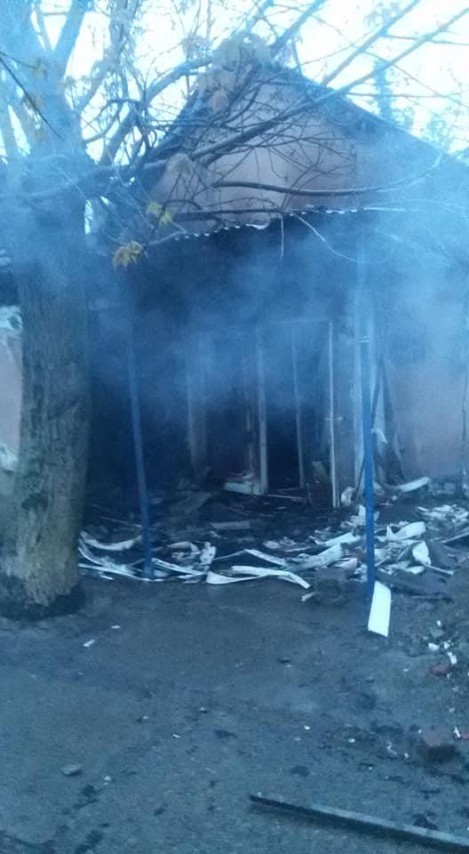 Пожежа сталася в будівлі на вулиці Капушанській.
