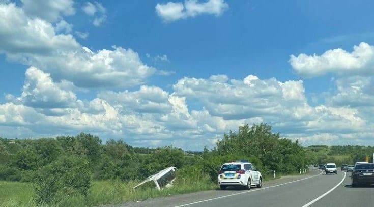 ДТП на трасі Київ-Чоп зафіксували 11 червня. Автобус з'їхав у кювет поблизу села Глибоке Закарпатської області.