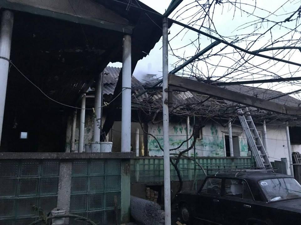 На Виноградівщині жінка загинула в пожежі (ФОТО)