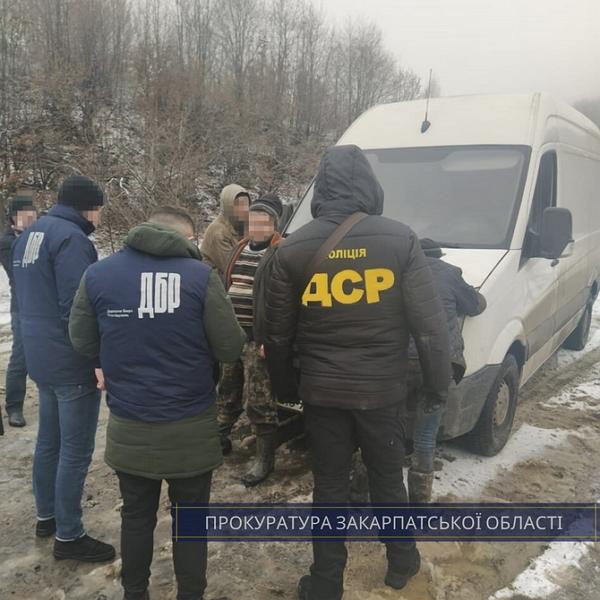 Майстра лісу з Хустщини затримано у порядку ст. 208 КПК України.
