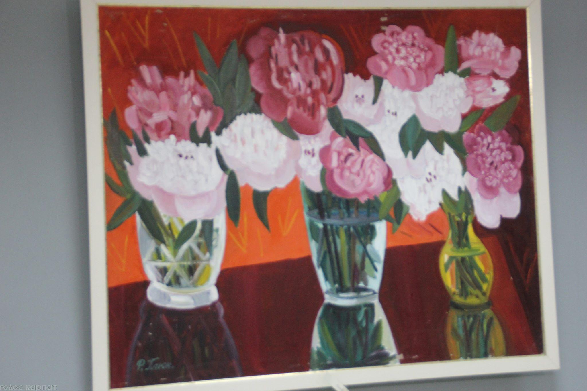 Картину закарпатської художниці за великі кошти продали на аукціоні в Америці