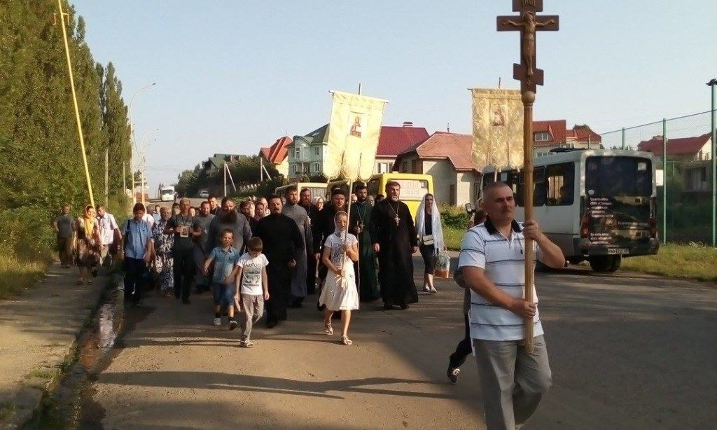 У понеділок відбудеться Хресна хода з Ужгорода до Мукачівського монастиря