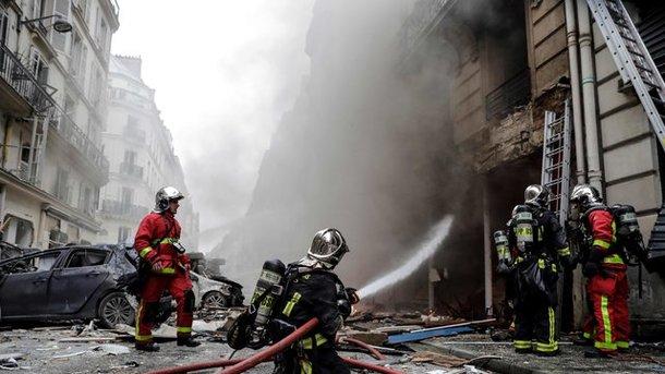 Потужний вибух у пекарні Парижа: постраждав українець