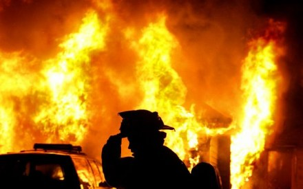 Через необережність на Іршавщині вогонь завдав збитків на 7000 грн