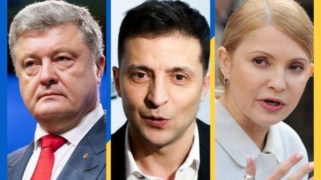 Володимир Зеленський продовжує лідирувати у президентському рейтингу, а Юлія Тимошенко практично зрівнялась з Петром Порошенком і ділить з ним друге-третє місце.