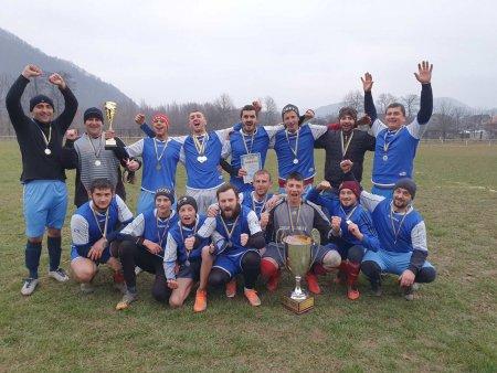 Футбольний клуб «Нива» с.Тячівки – чемпіон першості Тячівського району з футболу.