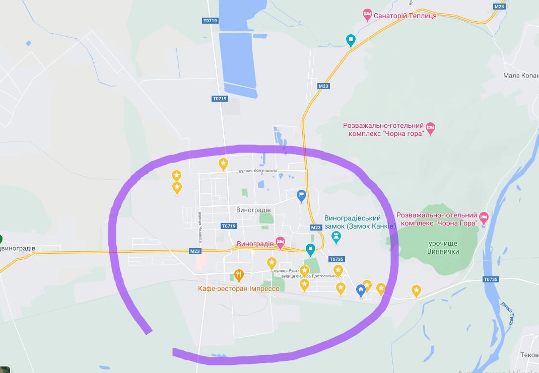 Більшість дільниць міста Виноградів, за винятком вул. Першотравнева та райавтодор і ЗОШ7, віднесені до третього виборчого округу. Ось список кандидатів від цього округу.