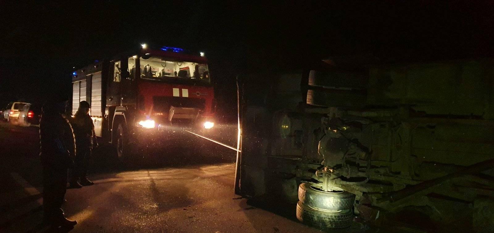16 січня о 02:39 до рятувальників надійшло повідомлення про дорожньо-транспортну пригоду за участі легкового автомобіля
